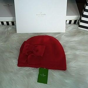 Red Kate Spade Hat
